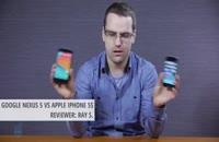 مقایسه ی Google Nexus 5 و Apple iPhone 5s