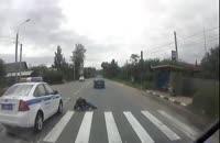 فیلم تصادف دختران با ماشین