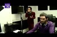 فیلم ضبط آهنگ نبض احساس با صدای مرتضی پاشایی
