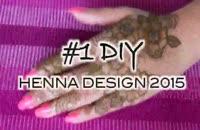 آموزش طراحی دست با حنا شماره 10