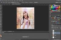 کلیپ آموزش ایجاد افکت رنگی روی تصاویر در فتوشاپ