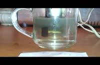 آلودگی آب تهران آزمایش 2