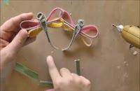 ساخت سنجاقک با زیپ