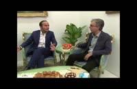 طنزو شوخی در مصاحبه رضا رفیع و حسن ریوندی در حاشیه نمایشگاه تلکام