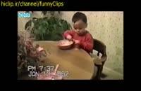 واکنش بچه ها بعد از بستنی خوردن