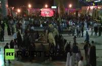 مراسم سوگواری قربانبان رمی جمرات در تهران