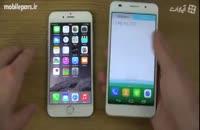 مقایسه گوشی های Apple Iphone ۶ و Huawei Honor ۶