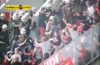 درگیری شدید پلیس یونان با طرفداران بایرن مونیخ