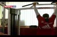 تمرینات جالب بدنسازی بازیکنان بایرن مونیخ