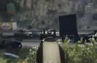 گیم پلی زیبای GTA V بر روی Xbox one