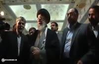 امام خامنه ای: سلام مرا به آقای رحیم پور ازغدی برسانید | فدایی دو ارباب