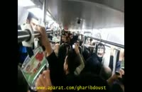"""آهنگ """"نگران منی"""" مرتضی پاشایی با صدای مردم در مترو"""