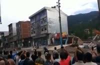 کلیپ حادثه سیل در مازندران