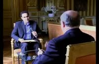 مصاحبه خبرنگار صدا و سیما با لوران فابیوس