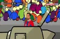 انیمیشن بازی بایرن مونیخ-بارسلونا