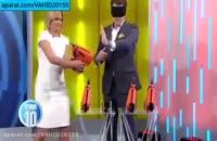سوتی خفن زن جوان در برنامه زنده شبکه ای