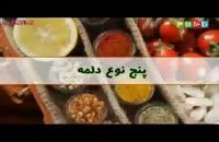 پنج نوع دلمه آموزش آشپزی