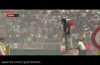 درگیری بین هواداران فوتبال در شیلی