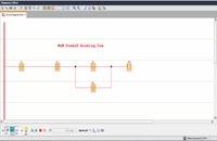 مدار فرمان راه اندازی دائم موتور در Plc Logo