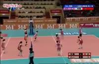 والیبال خنده دار دختران جوان