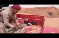 توقف خودروی حمل پول داعش توسط نیروهای عراقی