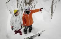 اسکی هیجان انگیز در شهر