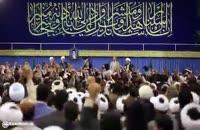 ورود امام خامنه ای به حسینیه امام خمینی(ره) در عید مبعث