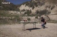 شلیک به جی فلکس ۲ با گلوله کالیبر ۵۰