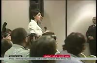 پاسخ قاطعانۀ دکتر احمدی نژاد به خبرنگار BBC