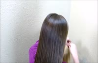 آموزش بافت موی دانه برف