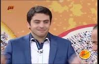 شوخی و کل کل خنده دار و دیدنی علی ضیا و حسن ریوندی در تلویزیون