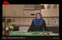 کلیپ آموزش خانه داری : تزیین خیار