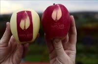 پرورش سیب هایی با لوگوی طبیعی