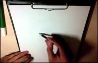 طراحی کاریکاتور ۲۶ (طراحی کاریکاتور اوباما)۴