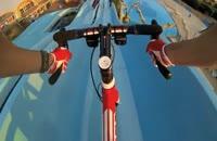 کلیپ هیجان انگیز دوچرخه سواری