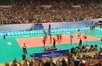 والیبال ایران آمریکا از زبان سرمربی و بازیکن آمریکا