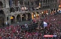 تصاویر زیبا از جشن قهرمانی بایرن مونیخ در بوندس لیگا
