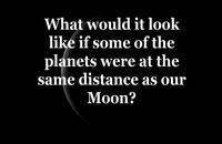 اگر جای ماه با دیگر سیاره ها عوض می شد