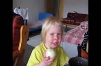 علاقه شدید کودک به خوردن پیاز