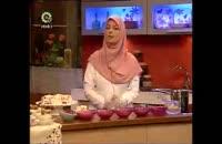 کلیپ آموزش آشپزی فرنی با ژله