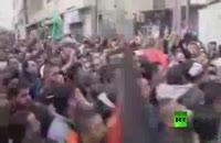 تشییع باشکوه دو شهید فلسطینی