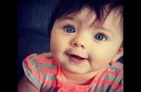 تکرار حرفهای مادر از یه بچه شیرین زببان