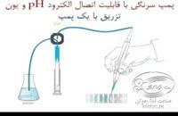 پمپ سرنگی با قابلیت تنظیم غلظت – صنعت نما جوان - Syring Pump