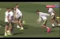 آخرین تمرین رئال مادرید قبل بازی با بیلبائو