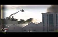 آتش سوزی یک مسجد در انگلیس