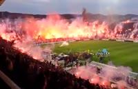 تماشگران ایرانی فوتبال هیجان آفریدند