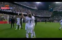 جشن قهرمانی رئال مادرید در جام حذفی
