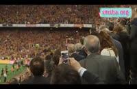 پشت صحنه جام حذفی قهرمانی بارسلونا