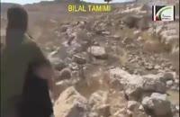 صحنه ای دلخراش از دستگیری یک کودک فلسطینی