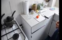 کلیپ آموزش آشپزی : آموزش درست کردن سالاد شیرازی